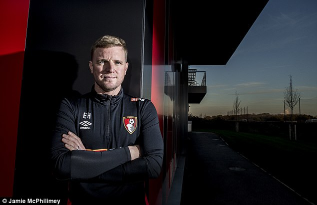 He's the youngest boss in the Premier League but Howe has 438 games under his belt