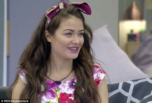 Revealed: The brunette beauty dropped the bombshell that she was single when she headed into the Celebrity Big Brother house (pictured in January 2018)