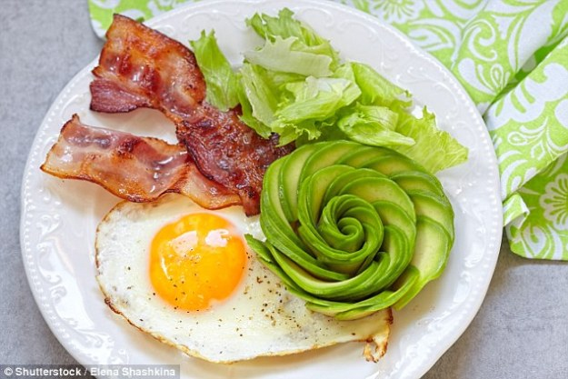 According to the experts, a ketogenic diet is a low-carb diet, where the body produces ketones in the liver to be used as energy (stock image)