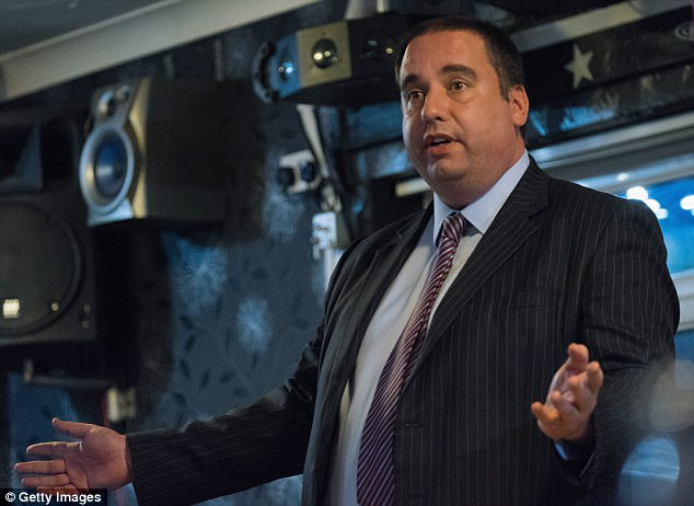 Mr Bolton, whose relationship with Ms Marney has also led to calls for him to quit, was told by Ukip West Midlands MEP Bill Etheridge(pic in Horden in 2015) after the texts surfaced: 'Go now'