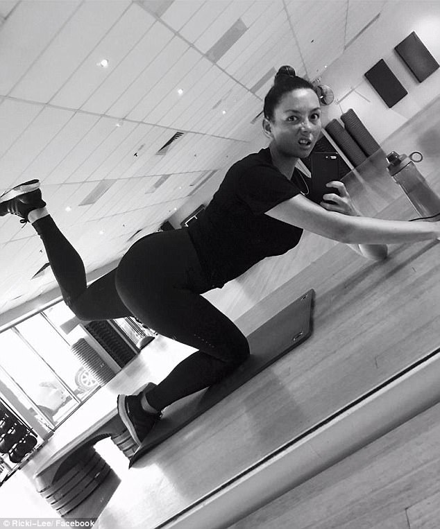 'It's time to whip myself back into shape': Ricki-Lee Coulter ramps up her health and fitness efforts... after fans speculate the singer will be on I'm A Celebrity...Get Me Out Of Here!