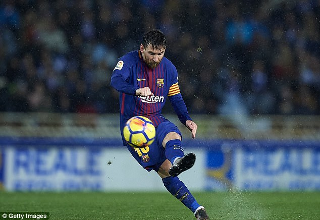 Kết quả hình ảnh cho Messi free kick
