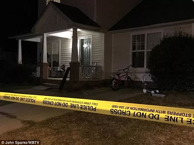 Crime scene: When police went to the woman's home on Sebastani Drive (pictured), they found her children suffering from fatal injuries