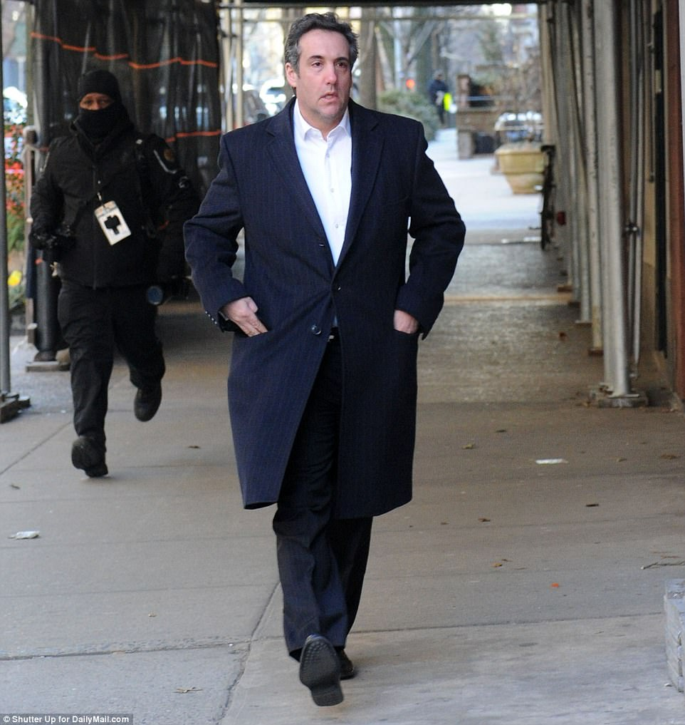 Image result for PHOTOS OF MICHAEL COHEN IN NYC