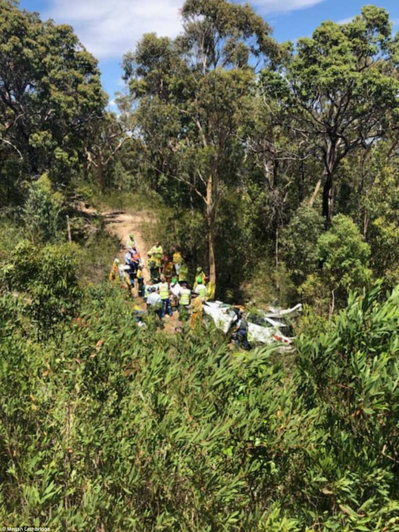 Sam Lethbridge's car had travelled at least 20 metres off the Pacific Highway on Sunday morning; it was found on Monday
