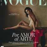 Victoria Bechkam On The Cover Of Vogue,Spain