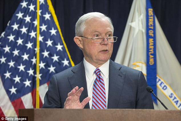 Fighting mad: U.S. Attorney General Jeff Sessions said Tuesday that he will go directly to the Supreme Court to push back against a federal judge who blocked the administration from ending the Deferred Action for Childhood Arrivals program