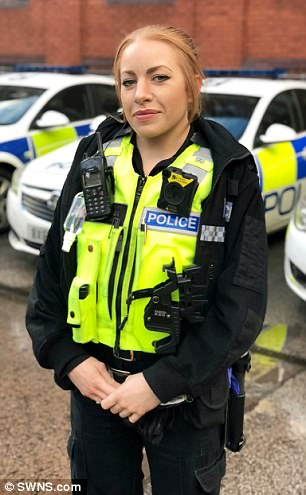 PC Jemma Follows has been praised for her bravery and determination