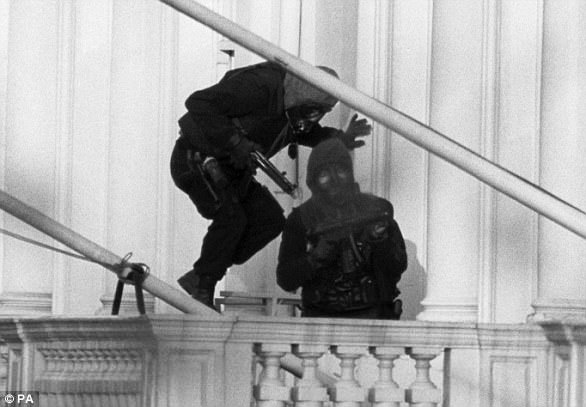 The veteran was among those who took part in the famous SAS raid of the Iranian embassy in 1980