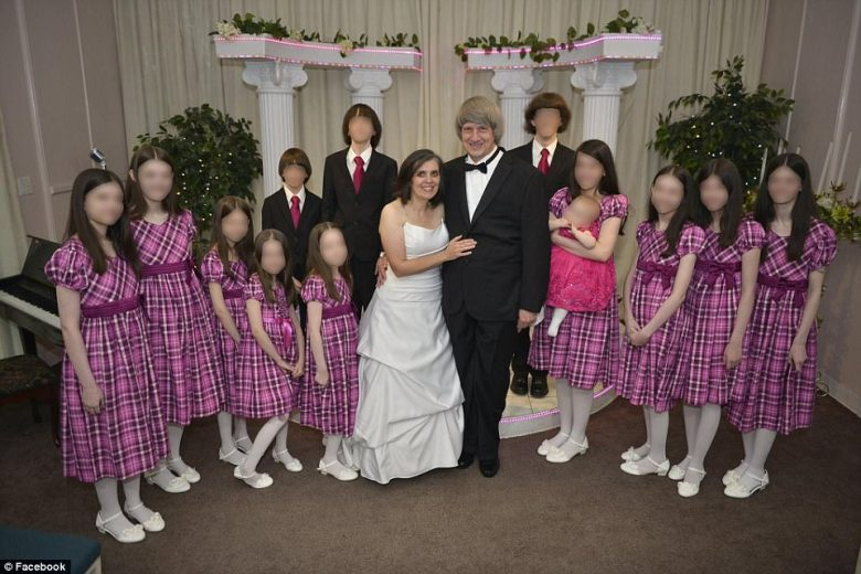 The children were clean and appeared to be in good health in 2015 when they joined their parents in Las Vegas for a vow renewal ceremony