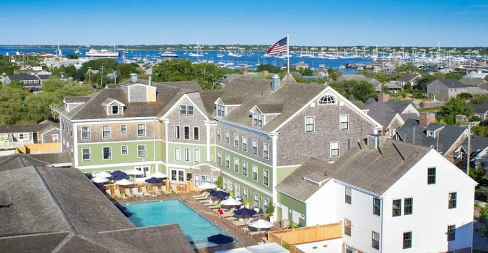 The Nantucket Hotel & Resort in Massachusetts offers bedroom suites and cottages, many with kitchenettes as well as ocean and harbour views