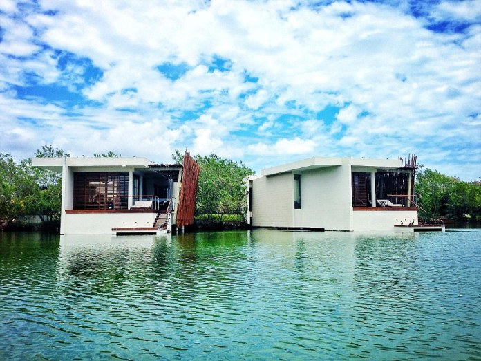 The luxury Rosewood Mayakoba in Mexico, which was praised for its service and luxurious surroundings in the awards