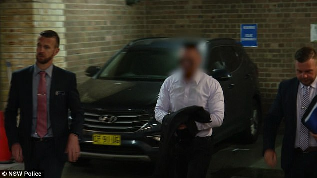Salim Mehajer (pictured) was charged on Tuesday with perverting the course of justice
