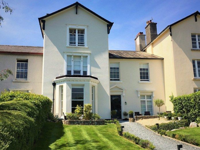 Tavistock House, in Devon was built by the Duke of Bedford around 1820. It was recently restored into a small boutique hotel