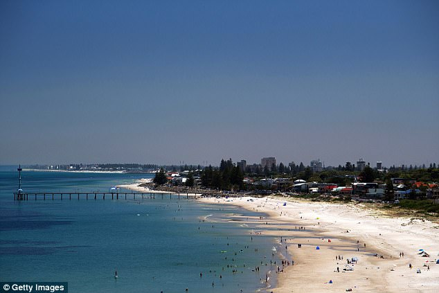 According to the Bureau of Meteorology, the South Australian capital will swelter through 38C on Friday followed by 42C on Saturday and Sunday (stock image)