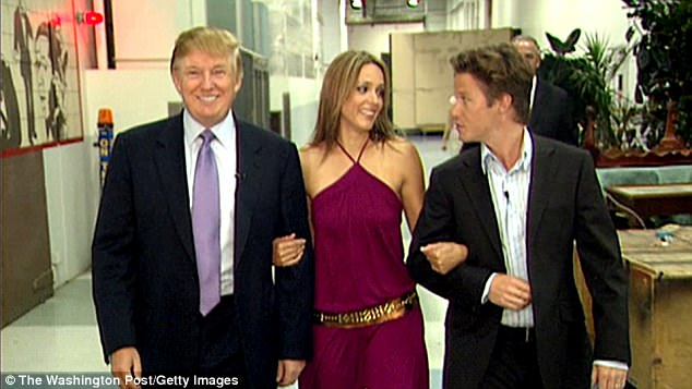 Bush was fired from the Today show in October 2016, when a video surfaced of one of his conversations with Donald Trump, in which the then-Apprentice host was heard using vulgar language to speak about women (a still from the video above)