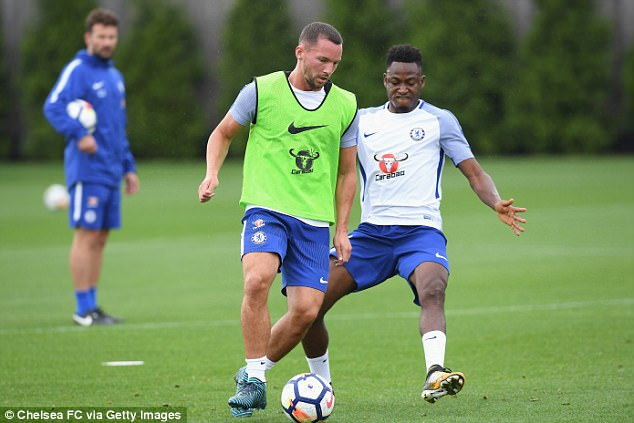 Chelsea are willing to let him go as they look to finalise two signings for the first team