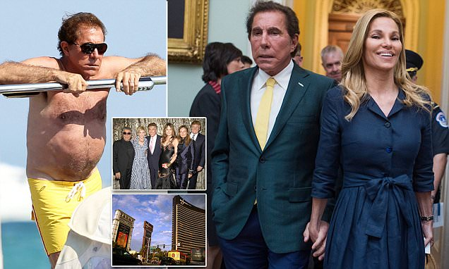Steve Wynn 'paid $7.5M to worker he forced into sex
