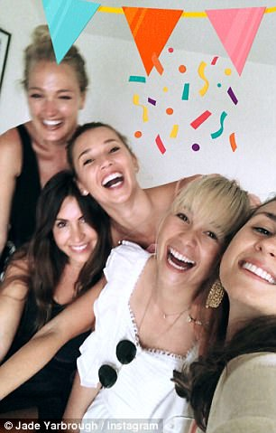 Party time! Friends who attended the shoe designer's party shared Instagram story videos and snaps of the occasion