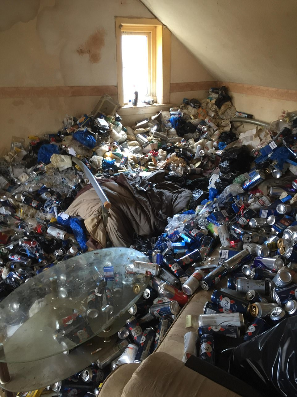 Maidstone landlord returns to flat buried in empty cans