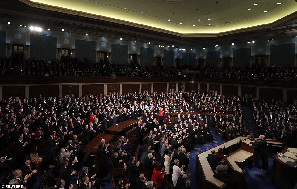 Trump presented his immigration demands as a compromise solution to the decades-old problem. Despite the president's invitation for bipartisanship, Democrats showed their resentment the bargain he offered them