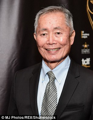 George Takei spouted: 'I'm not watching some frothing orange gorilla read off a teleprompter'