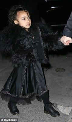 Kourtney Kardashian,North West and Penelope In New York City