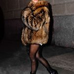 Fur Girls :Kourtney Kardashian ,North and Penelope Style in NYC