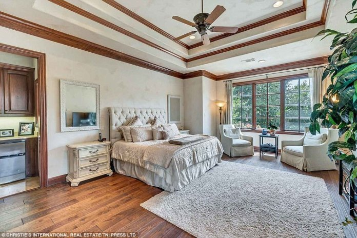 Bedroom: The house boasts five large bedrooms, making the home perfect for a family or for entertaining a number of guests