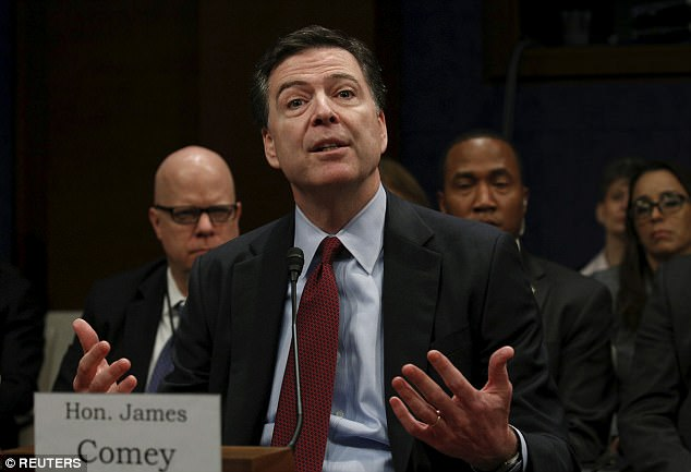 Comey was to give Obama an update on the Clinton email investigation before the 2016 election, according to Page; he testified before Congress in 2017 that he only spoke to Obama twice as FBI director – but didn't mention whether he had sent him written reports