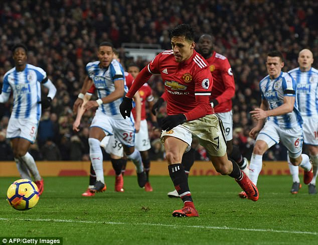 The 29-year-old scored on his home debut for United in the 2-0 victory over Huddersfield