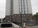 Police were called to Bray Tower, on Fellows Road in north-west London, at 10.30am on Friday