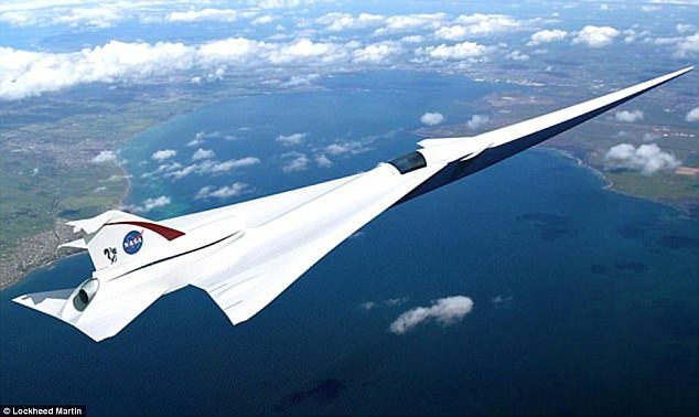 The space agency is working on designs futuristic supersonic X-plane, the Quiet Supersonic Transport (QueSST) low-boom flight demonstrator. It could make its first flight in 2021, if production goes according to plan