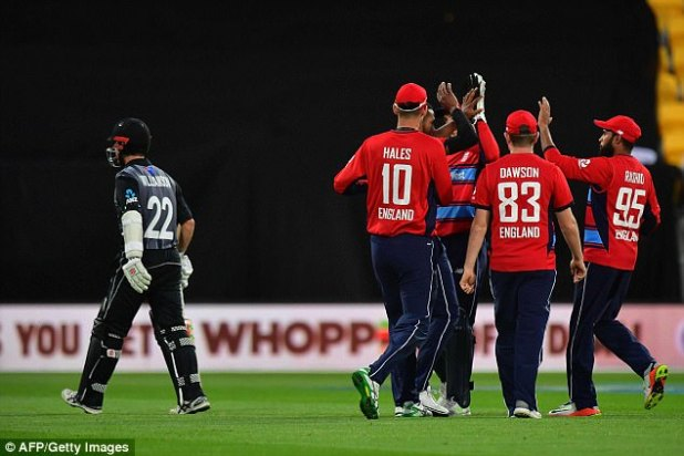 Williamson was eventually bowled by Chris Jordan during the game in Wellington on Tuesday