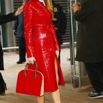 Blake Lively's Valentine Style at New York Fashion Week