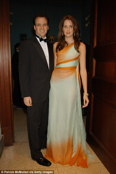 Dr Mortimer Sackler, Jr - who was also listed as a Napp director as of December 2016 - is pictured with his wife, Jacqueline, at the Winter Dance 2006 Desert Oasis sponsored by Versace at The American Museum of Natural History in February 2006