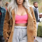 Kim Kardashian's Lazy Yet Expensive style in California