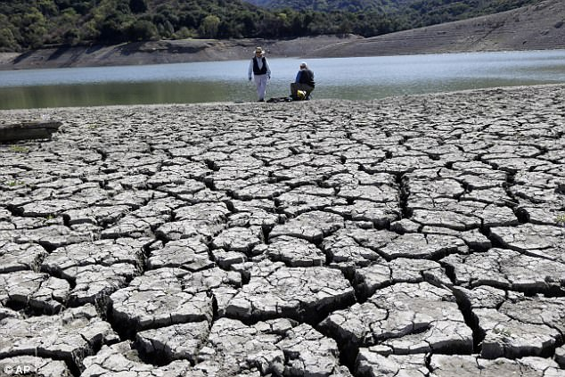 Military strategists even talk of water, not oil, as the potential trigger for 21st Century conflicts, while the United Nations has warned water scarcity could displace 700 million people by 2030 (stock image)