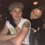 Victoria Beckham Approves Son's 'MUM' Tattoo