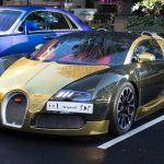 Gold Bugatti Veyron Draws Crowds And Police Sell Seized Lamborghini Daily Mail Online