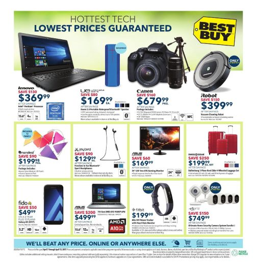 small resolution of best buy weekly flyer weekly score epic deals apr 7 13 redflagdeals com