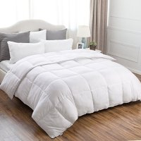 Twin Quilted Down Alternative Comforter Duvet Insert With ...