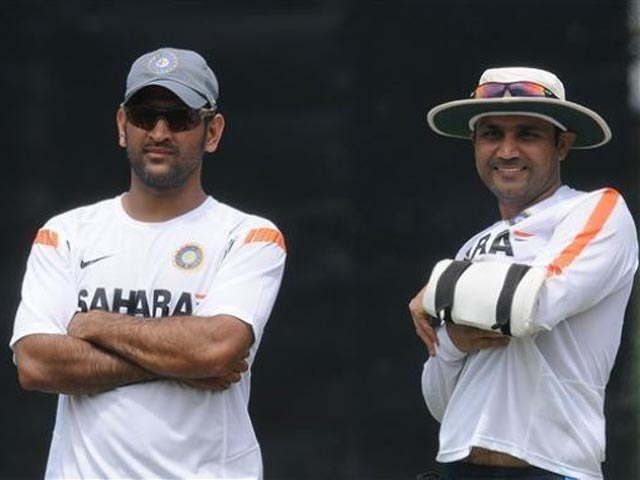 Sehwag doesnt even care to mention Dhoni