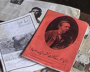 A picture of the Marxist/Maoist literature that was translated into Urdu and Pushtu and distributed among the peasants, workers and students of KPK during the MKP movement in the province.