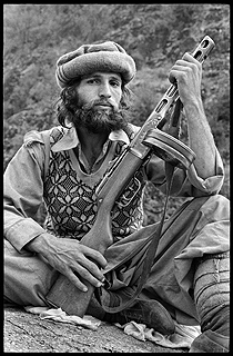 It is believed that one of the first Pakistani fighters that were inducted into the 'Afghan jihad' where those peasants and tribal Pushtuns who were radicalized by the Maoist MKP in the early 1970s, but were re-indoctrinated by the Pakistan Army to fight against the Soviets in Afghanistan.