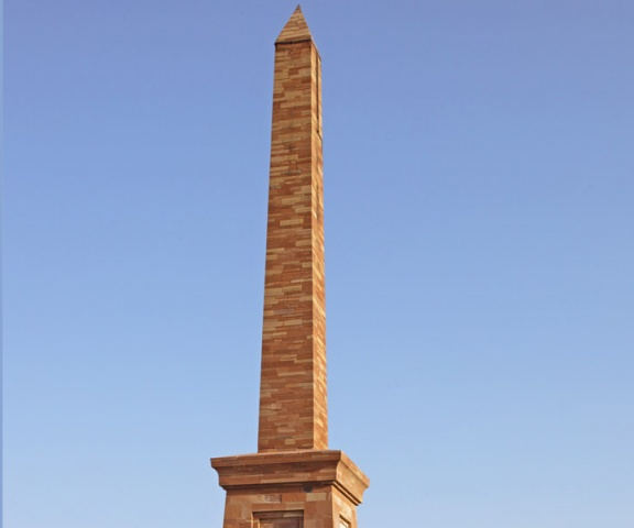 A monument was made in Multan for the Patrick Alexander Vans Agnew after Siege of Multan.