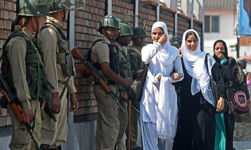 Pakistan Army Girl Wallpapers Kashmir Region On Lockdown For Modi Visit World Dawn Com