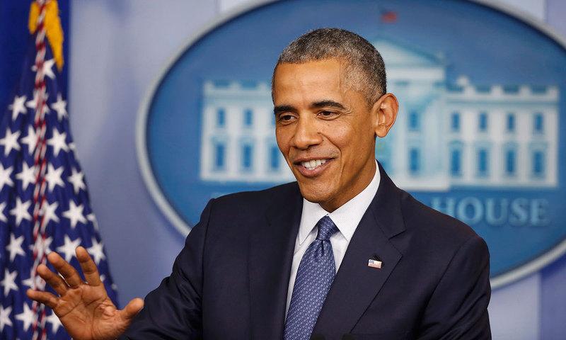 معمولی نظر آنے والی سادہ سی عادات ہی ہیں جنہوں نے امریکی صدر کو ایک منفرد پہچان دی ہے۔ — رائٹرز