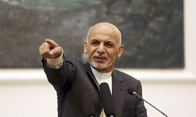 Afghan President Ashraf Ghani lambasted Pakistan on August 10 over a recent wave of insurgent attacks in the capital Kabul that killed at least 56 people.