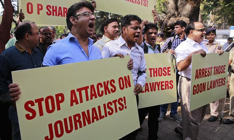 Image result for stop attacks on journalists in india